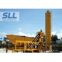China Integrated Design Concrete Batching Plant Mobile Mixing Plant 12 Months Warranty wholesale