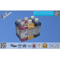 China 6 Color 1000ml Bottle Pigment Based  Eco-solvent Ink For Epson Stylus Photo 1400 Printer OEM wholesale