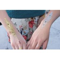 China Popular Long lasting Body Tattoo Stickers for hot women , skin jewelry tattoo wholesale