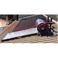 China Roof Mounted Stainless Steel 316 Solar Water Heater , Pressurized Solar Hot Water System on sale