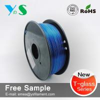 China PETG 3.0mm Blue with 3d printing filament for 3d filaments makebot wholesale