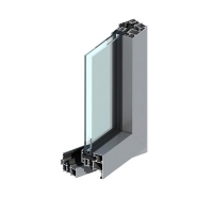 China Double Glazed 6063 Aluminium Window Extrusion Profiles , 6061 Aluminium Sliding Window Profile wholesale