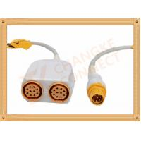 China Siemens IBP Cable 8 Pin to 10 Pin for Invasive Blood Pressure wholesale
