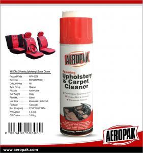 China AEROPAK 500ML aerosol spray can Upholstery and Carpet Cleaner wholesale