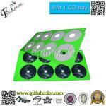 China Cheap Bulk CD Printing Custom 8 In 1 CD / DVD Print Tray For Printer Compatilbe Epson Deakjet Printer wholesale