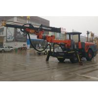 Buy cheap Wheel Type Tunnelling Drilling Rig Machine , Hard Rock Deep Hole Drilling from wholesalers