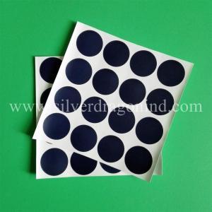 China Blue vinyl sticker labels wholesale