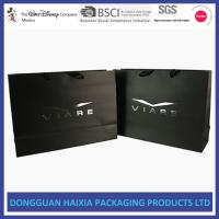China Luxury Colored Paper Bags , Paper Shopping Bags With Handles Free Sample wholesale
