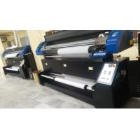 China Dx7 Heads Dye Sublimation Textile Printer 1.8m Print On Transfer Paper And Textile Directl on sale