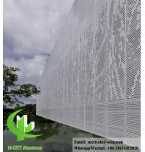 China Decorative Aluminium panel waterproof aluminum facade panel with powder coated wholesale