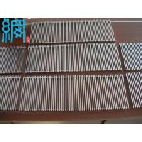 China Wedge Wire Panel Swimming Pool Drainage Grates wholesale
