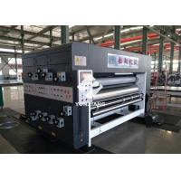 China Semi Auto Two Color Flexo Printing Machine For Corrugated Carton ISO Approved wholesale