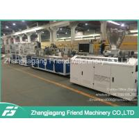China 37kw Motor Power PVC Ceiling Panel Extrusion Line For Household  0-4m/Min Speed wholesale