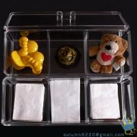 China acrylic cosmetic organizer case wholesale