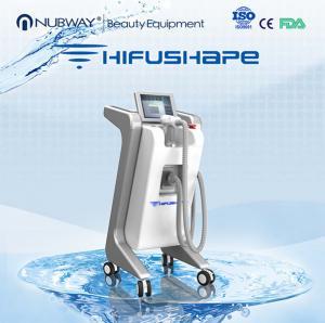 China Professional hifu beauty machine / power star hifu cavitation rf vacuum system wholesale