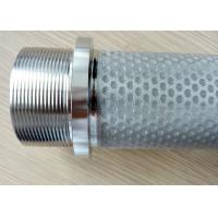 China Dust Collector SS Sintered Cloth Filter Cartridge Filter Elements wholesale