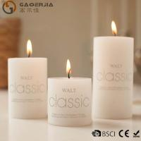 China Wax Flameless Electronic White Burning Candle / LED Candle Light wholesale