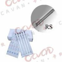 China Traditional Disposable Tattoo Needles Sterilized with Flat Shade on sale