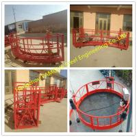 Buy cheap 90 Degree Hoist Working Platform Round Design Modular Cradle With Anti Slip from wholesalers