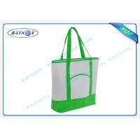 China 100% recycled pp non woven  handle shopper shopping bag for carbage wholesale