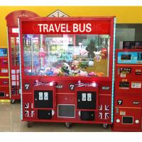 Buy cheap Coin Operated Claw Toy Grabber Machine D160 * W81 * H192 CM With LCD Main Board from wholesalers