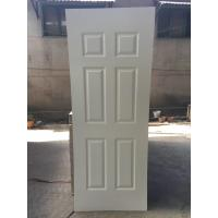 Quality 2150mm heigh White Primer HDF Door Skin , Environmental Friendly, Model 3 for sale
