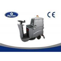 China Ride On Driving Industrial Floor Cleaning Equipment , Industrial Floor Scrubber Machine wholesale