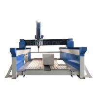China TechPro CNC router 4 axis 3d cnc machine with 9.0kw HSD spindle for sale wholesale