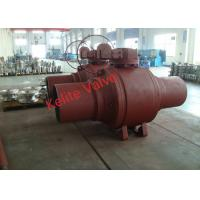 Buy cheap Fire Safety Welded Body Ball Valve Forging Material Extended Bonnet from wholesalers