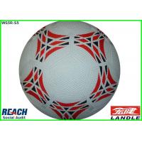 China Pebble Standard Size 3 Rubber Soccer Ball forWorld Cup , 18cm Diameter wholesale