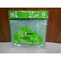 China Green Stand Up Vacuum Sealed Bags For Food With Zipper / Window wholesale