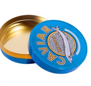 Quality 30 gm caviar tin box,50 gm caviar tin box,100 gm caviar tin box,125gm caviar tin for sale