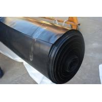 Black / White Color Geomembrane Pond Lining Sheets , Polypropylene Pond Liner