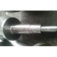 China 4140 34CrNiMo6 4340 Alloy Steel Metal Forgings Shaft Blank Rough Machined For Wind Power Industry wholesale