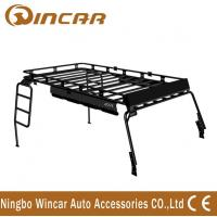 China Jeep Wrangler Accessories Jk Car Roof Racks Two Ladders Steel Material wholesale