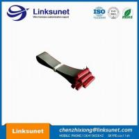 China PVC Flat Ribbon Cable Assembly 2.54mm Pich UL2651 - 28AWG 10P 1.27MM PICH wholesale