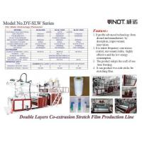 China Zhejiang Vinot Brand Stretch Film Machine to be made to order for Italy with  Blue color Model No. SLW-600 wholesale