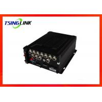 China 8-36V 4G Wireless HD Vehicle Mobile DVR 4 Channel With SD Card ESATA wholesale