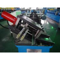 China Post Cutting Ceiling Roll Froming Machine  With 3T Manual Decoiler 0.9mm wholesale