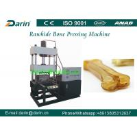 China DR60T Green hide Dog Chewing Pressed Rawhide Bones Making Machine wholesale