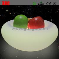 China New Designed PE Material Luminous Fruit Plate For Bar wholesale