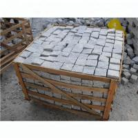 China Light Silver Granite Effect Paving Slabs Corrosion Resistant Design wholesale