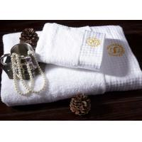 China 100% Cotton Face Towel With Embroidery / Jacquard / Printed Logo 35*75 Cm wholesale