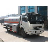 China Dongfeng 4*2 6000 liters oil tank fuel tanker trucks for sale wholesale