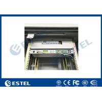China Communication Rack Outdoor Cabinet Two Compartments CE Certificated wholesale