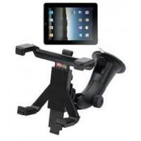 China 360 degree rotatable Multi-point lock ABS PVC tablet car holder for ipad 2 wholesale