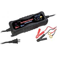 China 12V / 24V Portable Car Battery Chargers , 3A / 6A mobile Smart Battery Charger wholesale