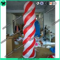 China Event Party Decoration 3m Inflatable Column Pillar With LED Light wholesale