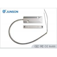 China Wired Magnetic Door Switch , Magnetic Reed Switch For Metal Rolling Door wholesale