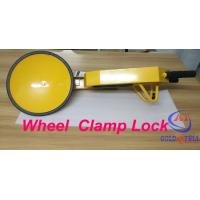 China Popular under Shockproof car wheel lock for Government project , Custom Painting Logo on sale